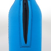 Zip up bottle cooler with base 750ml