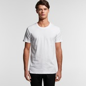 Special: AS Colour White Staple Mens Crew Tee