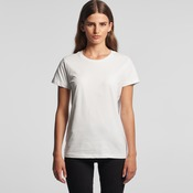 AS Colour Women's Maple Crew Neck Tee Embroidery
