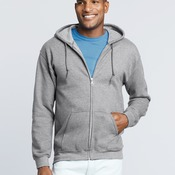 Gildan Mens Zip Hooded Sweatshirt