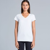 AS Colour Bevel V Neck Womens Tee