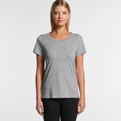 AS Colour Women's Shallow Scoop Tee - 4011