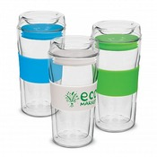 Hot / Cold Double Glass Cup 340ml